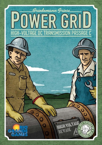 Power Grid: High-Voltage DC Transmission Passage C