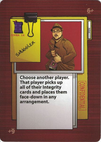 Good Cop Bad Cop: Undercover – Smuggler Promo Card