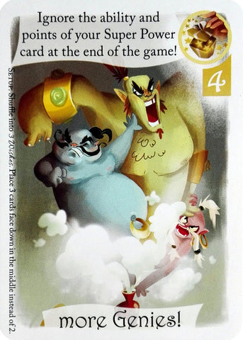 3 Wishes: More Genies! Promo Card