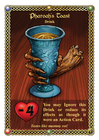 The Red Dragon Inn: Pharaoh's Toast