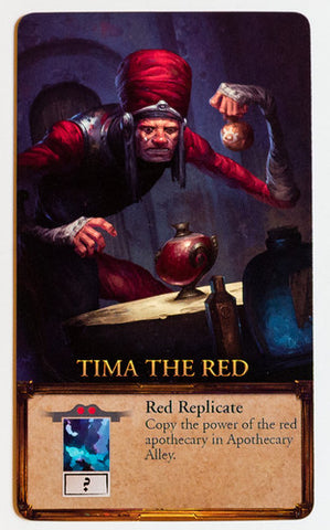 Apotheca: Tima the Red Promo Card