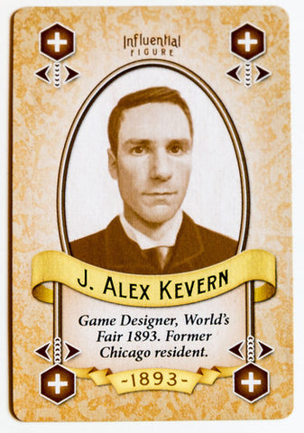 World's Fair 1893: J. Alex Kevern Promo Card