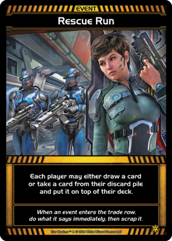 Star Realms: Rescue Run Promo Card