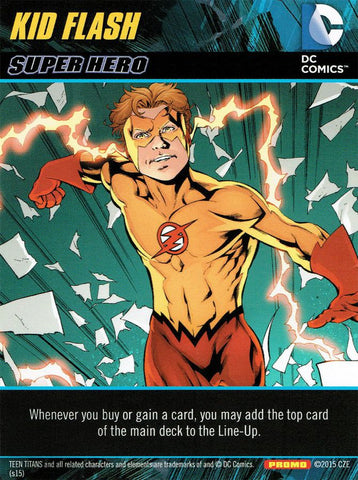DC Comics Deck Building Game: Kid Flash