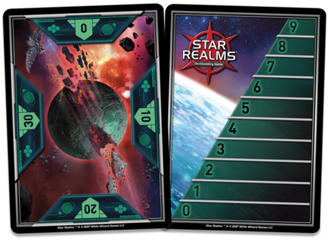 Star Realms: Score Cards