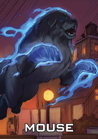 The Dresden Files Cooperative Card Game: Mouse & Variants