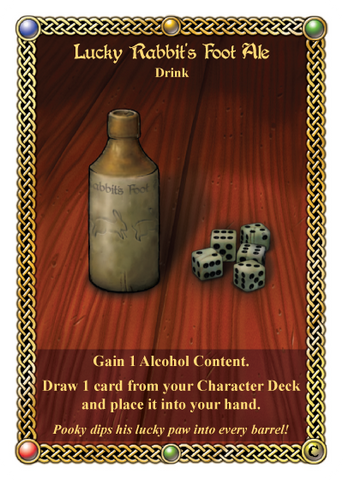 The Red Dragon Inn: Lucky Rabbit's Foot Ale