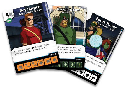 DC Comics Dice Masters: Archers Promo Cards