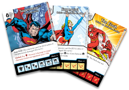 DC Comics Dice Masters: Crisis on Infinite Earths Promo Cards