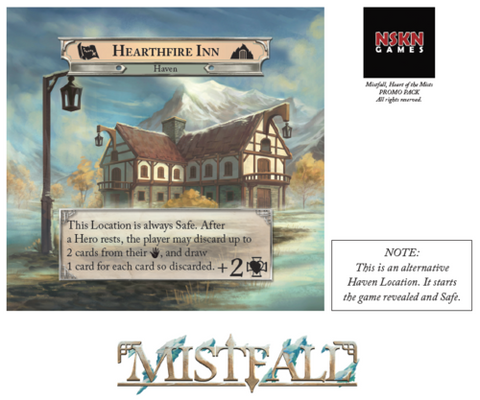 Mistfall: Hearthfire Inn Mini-Expansion