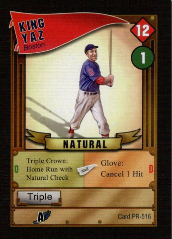 Baseball Highlights: 2045 – King Yaz Promo Card
