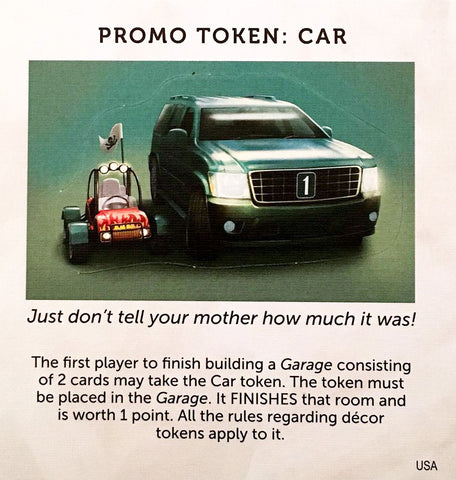 Dream Home: Promo Token - Car