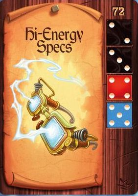 King's Forge: Hi Energy Specs