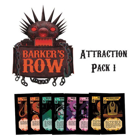 Barker's Row: Attraction Pack