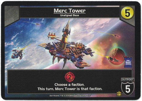 Star Realms: Merc Tower Promo Card