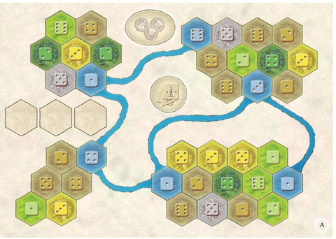 Castles of Burgundy: 10th Expansion - Solo Board