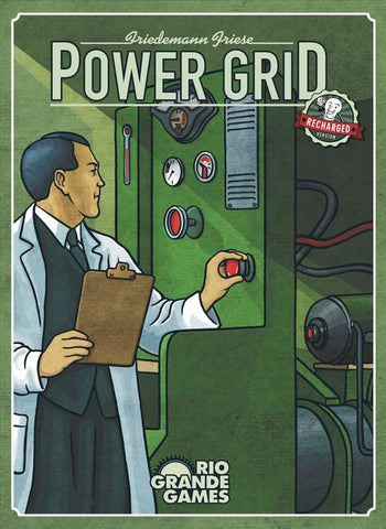 Power Grid: Recharged Edition Rule Book