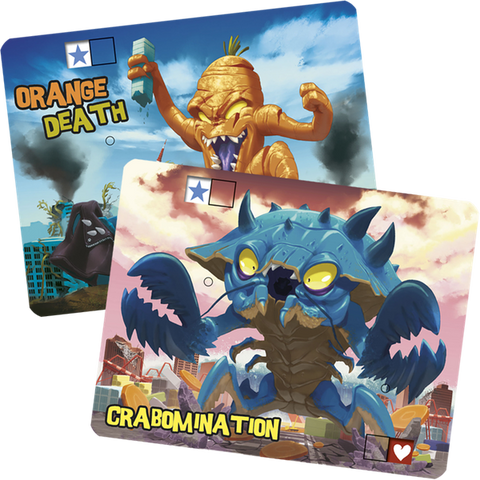 King of Tokyo: Crabomination & Orange Death Promo