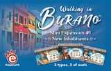 Walking in Burano: Mini Expansion 1 – New Inhabitants