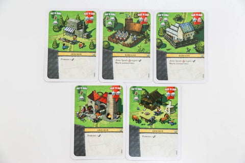 Imperial Settlers: Armorer and Barracks