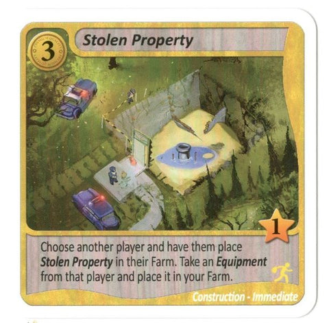 Fields of Green: Stolen Property Promo Cards