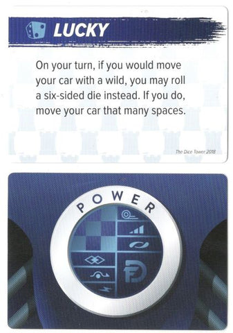 Downforce: Lucky Promo Card