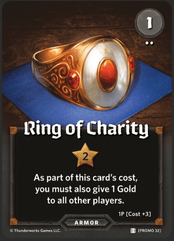 Roll Player: Ring of Charity promo