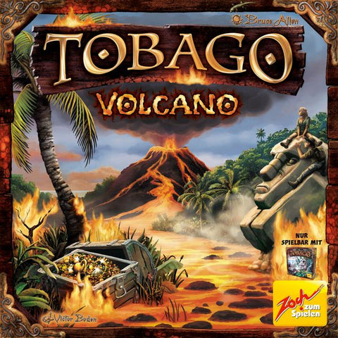 Tobago: Volcano Expansion
