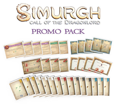 Simurgh: Call of the Dragonlord - Limited Promo Cards