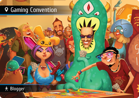 Spyfall: Gaming Convention
