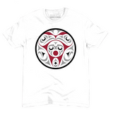 white eagles and moon whorl t-shirt