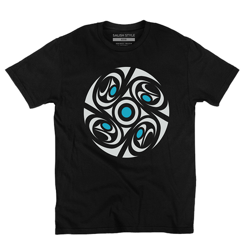 black quadrants t-shirt
