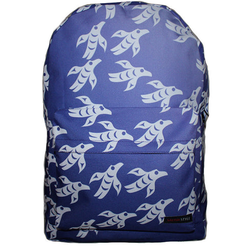 Birds of Change front view backpack