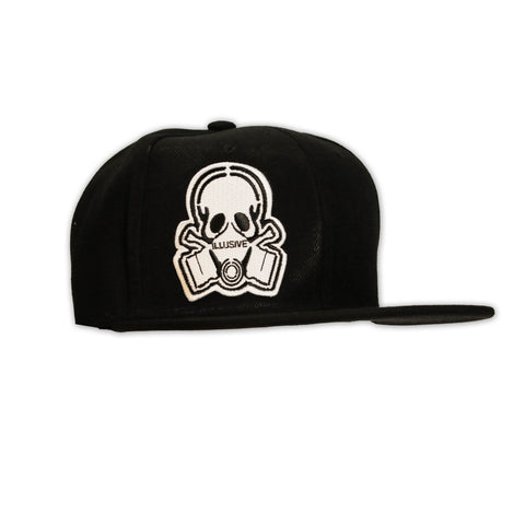 SLEEK SNAPBACK-ALL BLACK