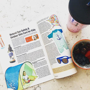 Island Grandparent Magazine - Natural Sun Safety & Outdoor Skin Care for Kids!