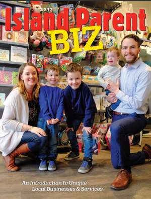 Momease Baby Boutique featured in Island Parent Biz magazine!