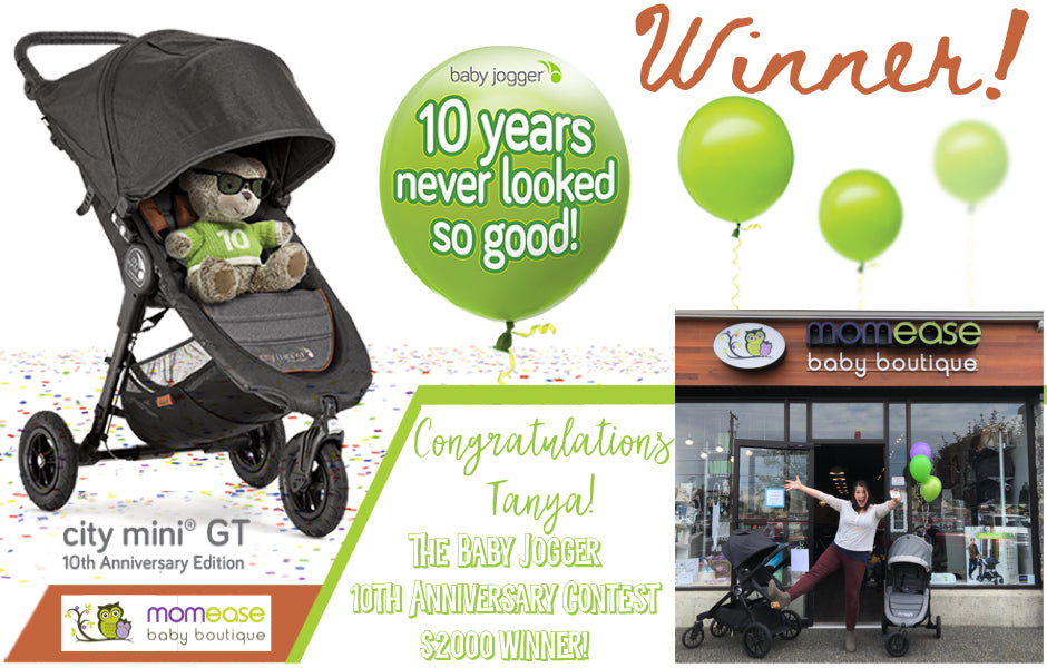 Baby Jogger 10th Anniversary $2000 Gift Card Contest!