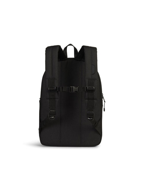 Herschel Heritage XL Youth Backpack - Black Sternum Straps