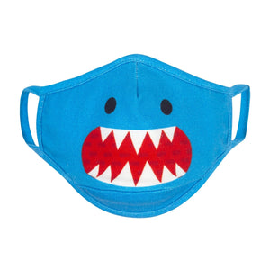 Zoocchini Organic Kids Reusable Face Mask 3 PK - Shark 4
