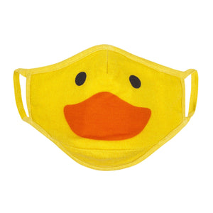 Zoocchini Organic Kids Reusable Face Mask 3 PK - Duck 4