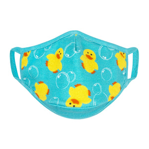 Zoocchini Organic Kids Reusable Face Mask 3 PK - Duck 2