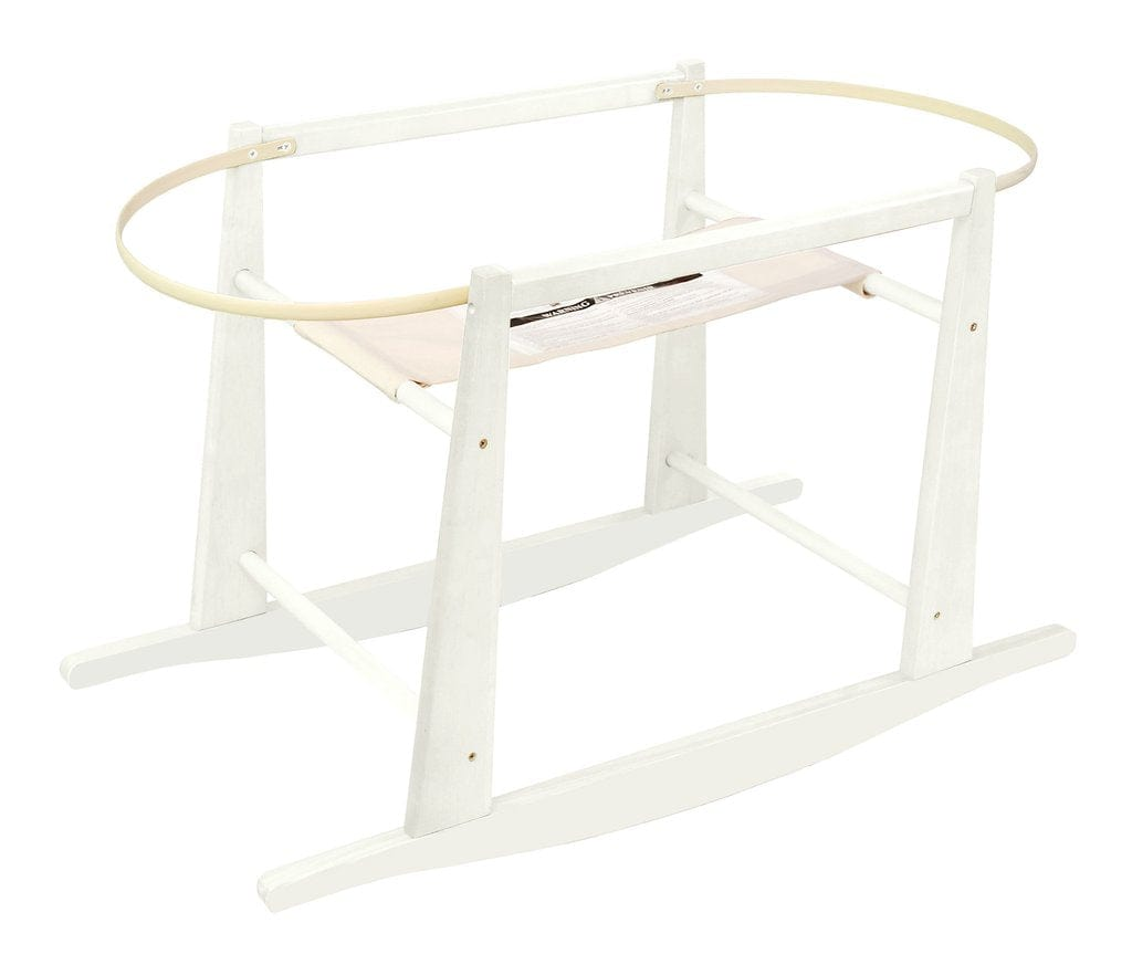 Jolly Jumper Rocking Bassinet Stand - White
