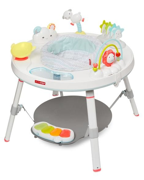 Skip Hop Explore & More Baby's View 3-Stage Activity Center - Silver Lining Cloud