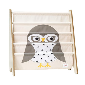 Owl - 3 Sprouts Book Rack