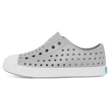 Native Shoes Jefferson Child Shoe - Pigeon Grey / Shell White