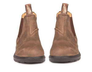 Blundstone Kid's Blunnies Boots - Rustic Brown Front