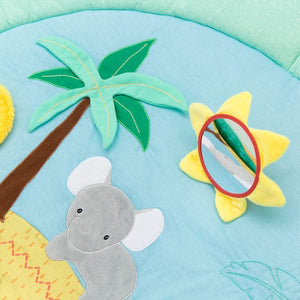 Little Big Friends Multi-Activity Playmat - Jungle Mirror Detail