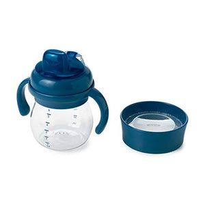 Navy -  OXO Tot Transitions Soft Spout Sippy Cup Set