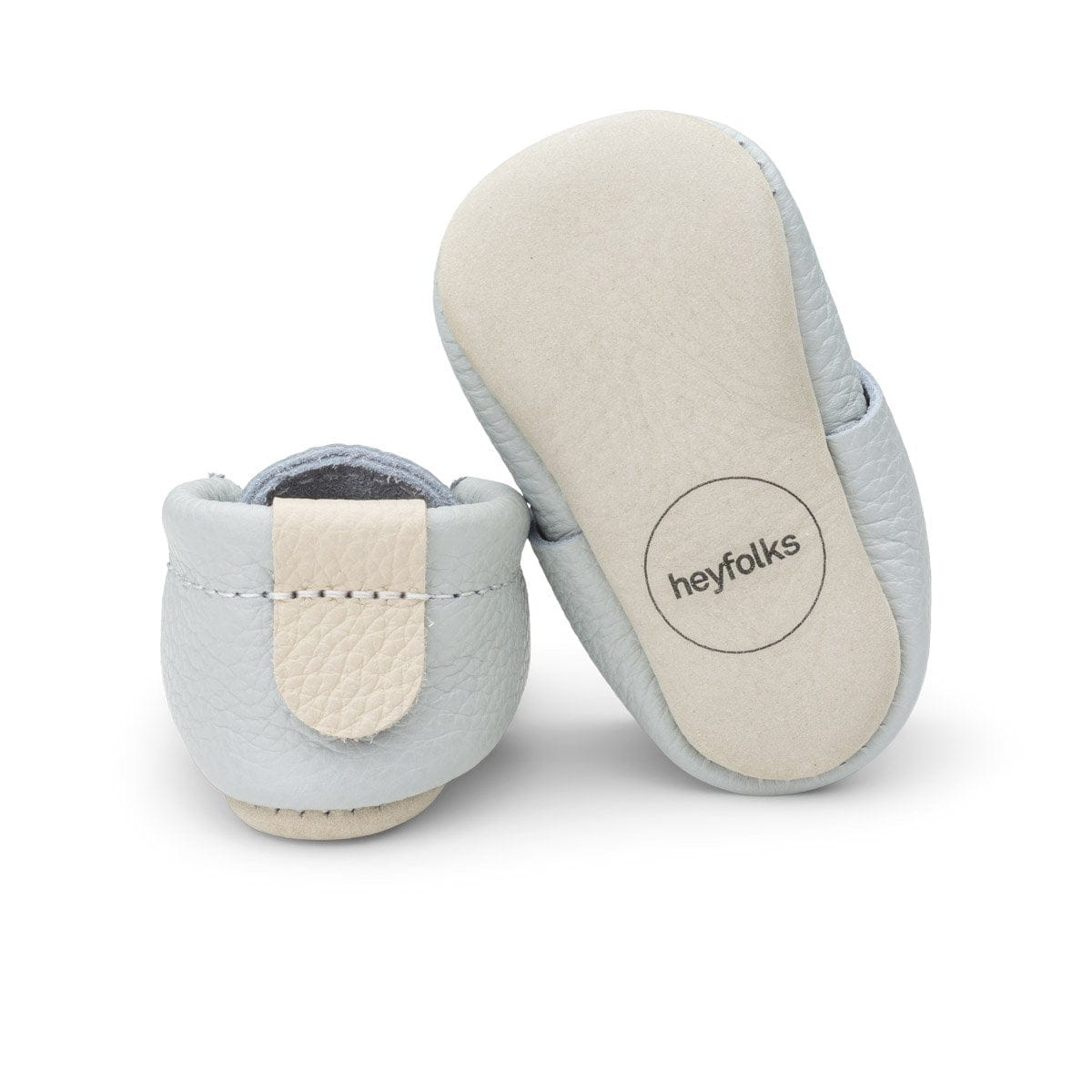 Heyfolks Newborn Soft Sole Shoe - Glacier