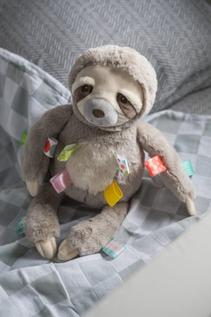 Mary Meyer Taggies Soft Toy - Molasses Sloth Lifestyle